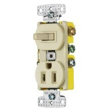 Combination Switch & Receptacle
