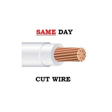 Southwire-THHN STR 6 WHT CU - CUT (SAME DAY)