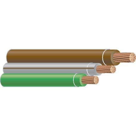 Southwire-12 STR 3/C CU THHN SIM PARALLEL BROWN/GRAY-BROWN/GREEN 600 FT