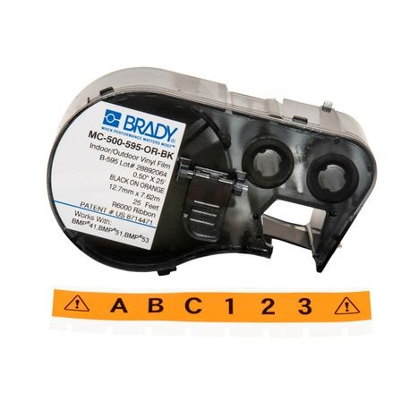 Brady-MC-500-595-OR-BK