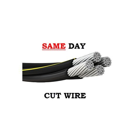 Southwire-URD QUAD 1/0 NOTRE DAME - CUT (SAME DAY)