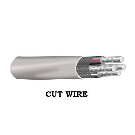 Southwire-SER 6 4 G AL - CUT (SAME DAY)