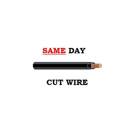 Southwire-THHN STR 250 BLA CU - CUT (SAME DAY)