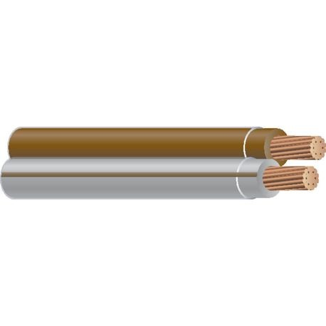 Southwire-10 STR 2/C CU THHN SIM PARALLEL BROWN/GRAY-BROWN 600 FT